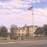 "Fort Riley is an active Army Post located in northeast Kansas. Built in 1853 it served as a Cavalry post and the famous 'Buffalo Soldiers' were stationed there along with Gen. George Custer. The post was home to the famed 'Big Red One"" from 1955-1996"