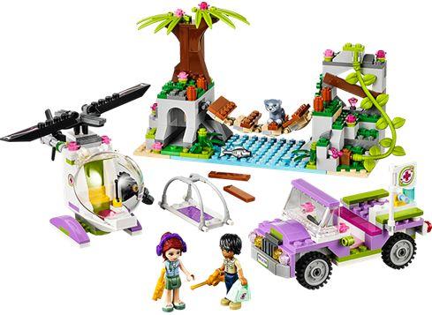 LEGO FRIENDS 41036 Redningsaktion på junglebroen