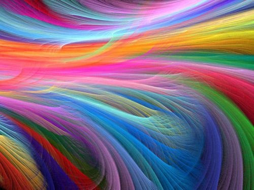 Rainbow Colors Art Image