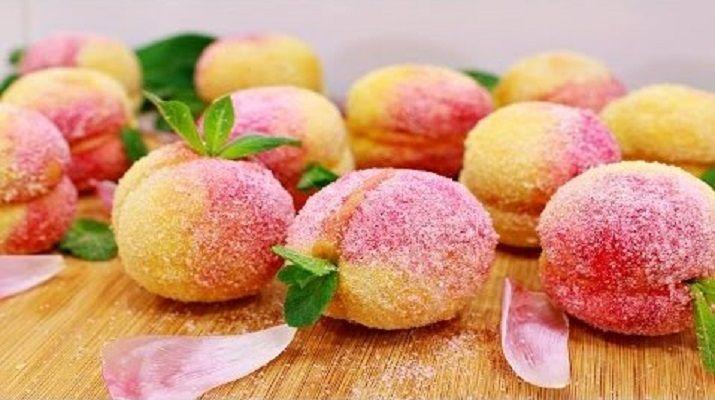 Очень вкусное пирожное «Персики»