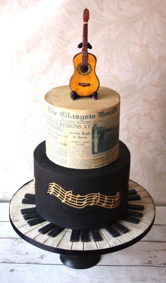 Best 25 Music themed cakes ideas on Pinterest Music cakes