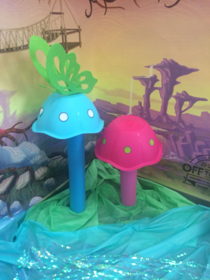 VBS decoration made by Natalie for GA VBS Clinics
