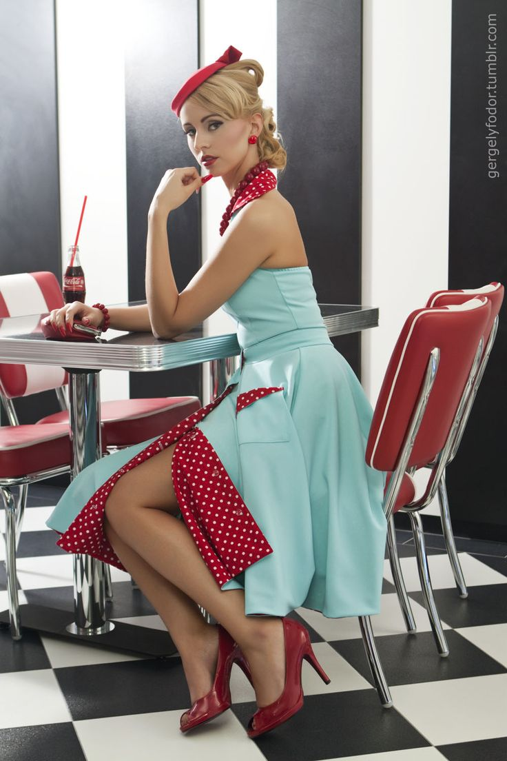 pin up dresses - 564×846