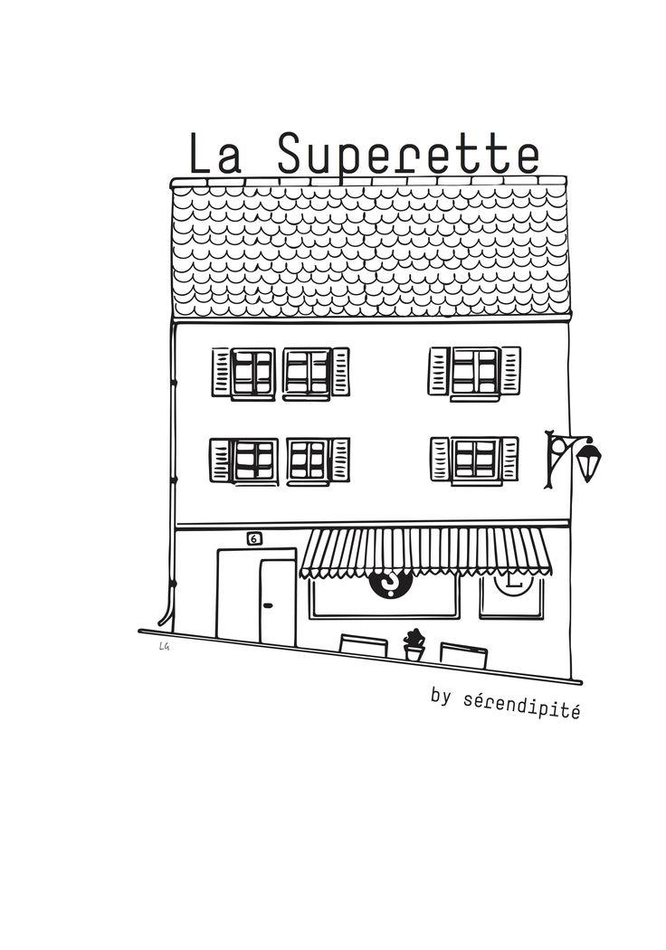 la superette by sérendipité by Lara Grandchamp