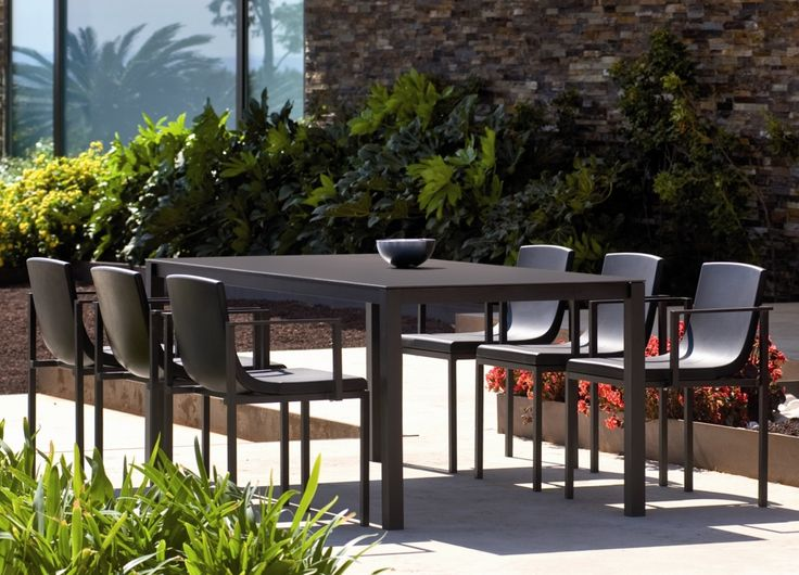 The Una Contemporary Garden Table Looks Just Like A Sleek, Stylish Indoor  Dining Table, Except Its Actually A Ultra Cool Modern Garden Table.