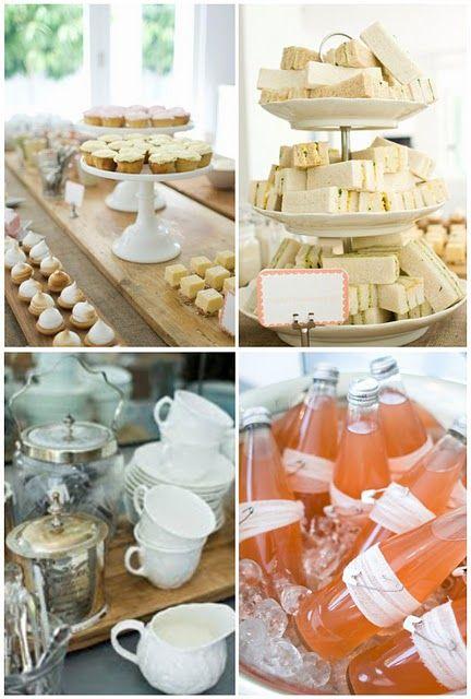 Afternoon tea buffet