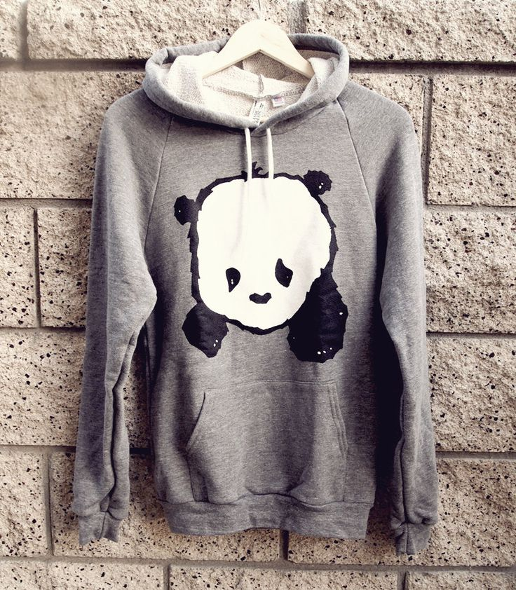 Baby Panda Hoodie Sweater