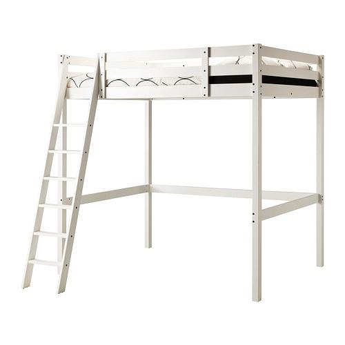 STORÅ Loftsängstomme - vitbets - IKEA