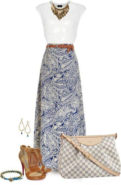 << - Maxi skirt for summer - >>