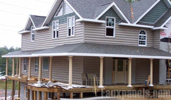 12 best timbermill log cabin siding images on pinterest for E log siding