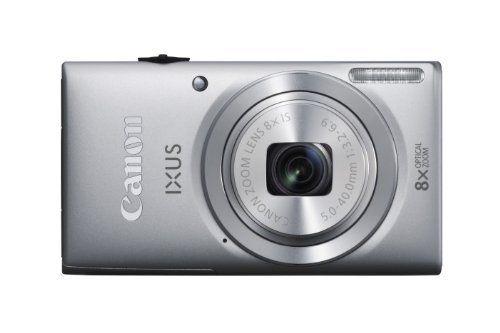 Canon IXUS 132 Digital Camera - Silver (16MP, 28mm Wide Angle, Eco Mode, 8x Optical Zoom) 2.7 inch LCD by Canon, http://www.amazon.co.uk/dp/B00B7YZIAA/ref=cm_sw_r_pi_dp_0-6Nsb1YBV3ZN