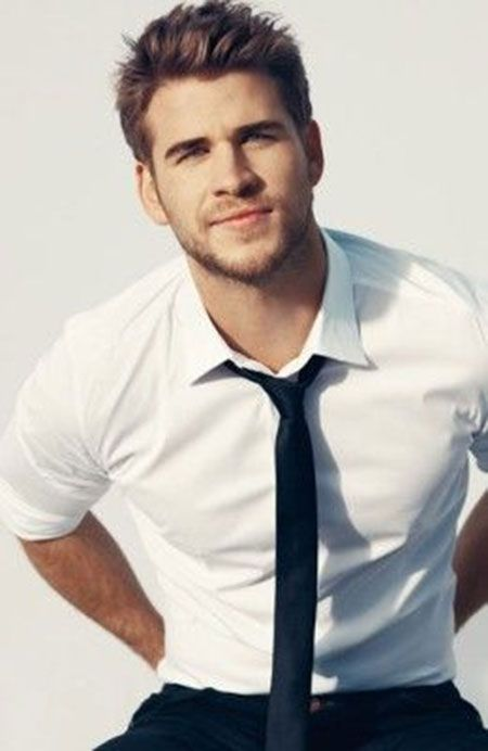 Liam Hemsworth Model Celebrity Haircuts For...