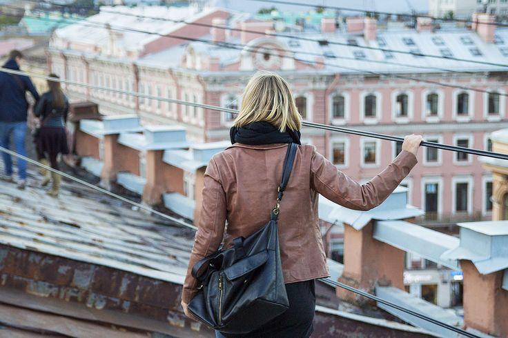 Rooftop tour in St. Petersburg