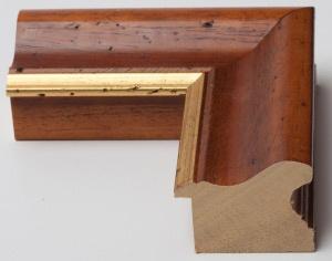 Cornice per quadri arte povera bombata e decorazione filo oro - Vendita cornici in stile arte povera