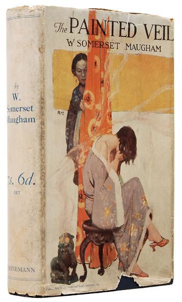 The Painted Veil - W. Somerset Maugham 1st Ed. 1925