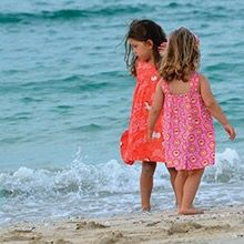 Get your kids ready in style this #summer with Poupettr à la plage mix and match beachwear and accessories