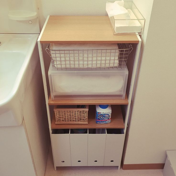 ポリプロピレンケース・引出式・深型のインテリア実例 | RoomClip ... Bathroom/無印良品/雑貨/無印/一人暮らし/ニトリ/ファイルボックス/