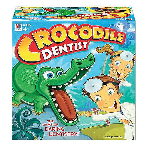 Use Crocodile Dentist to keep child focused on artic drills- say your word 5x then you get to push a tooth.