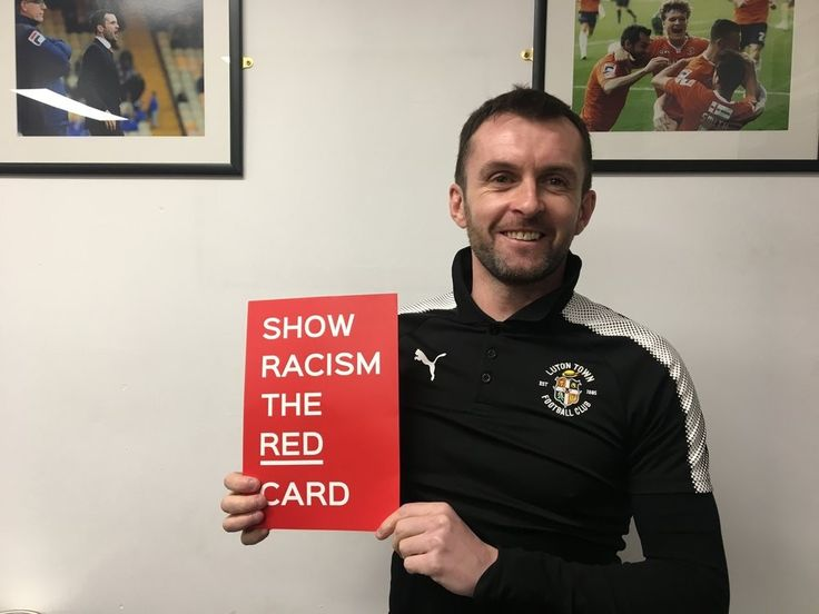 Show Racism the Red Card are delighted that Nathan Jones has agreed to become the latest patron of the campaign. Jones, who became Luton Town manager in January 2016, had a fantastic playing career where he made over five-hundred professional appearances, most notably for Southend United FC, Brighton & Hove Albion FC and Yeovil Town FC. After leaving Yeovil Town FC, Jones had coaching spells at Charlton Athletic FC and Brighton & Hove Albion FC before taking charge of Luton in January 2016.
