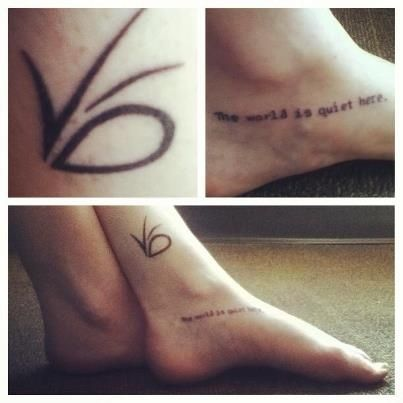 50 Incredible Tattoos Inspired By Books. I've wanted that tattoo for a loooong time. VFD.