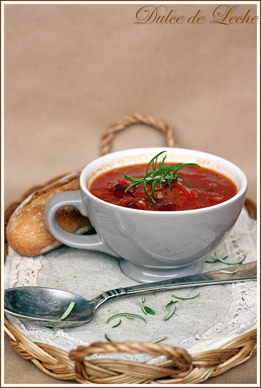 Dulce de Leche: Rozmarínovo fazuľová polievka
