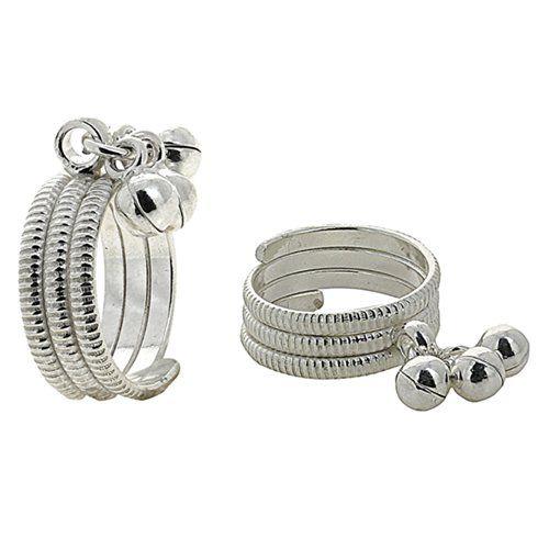 Punta d'argento anelli regolabili per donne indiano gioielli fatti a mano ShalinIndia http://www.amazon.it/dp/B00AA8YQTI/ref=cm_sw_r_pi_dp_govTtb15W2ZWNFW2