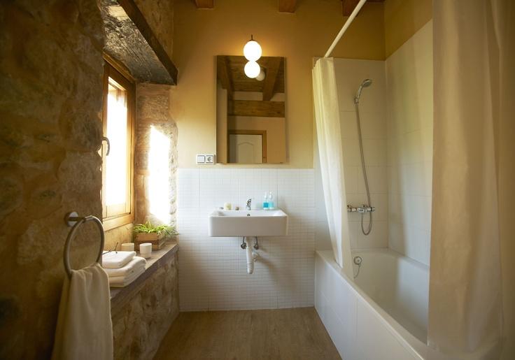 Baño / Bathroom - Alojamiento LaBalbina / Guest House