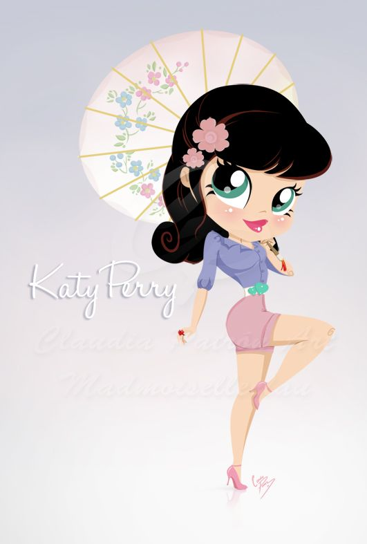 Katy Perry PinUp by *madmoiselleclau on deviantART