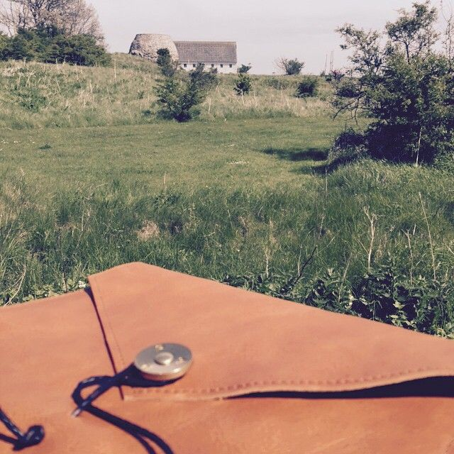 PAP on Tour. #skåne #madeinsweden #notebook #leather