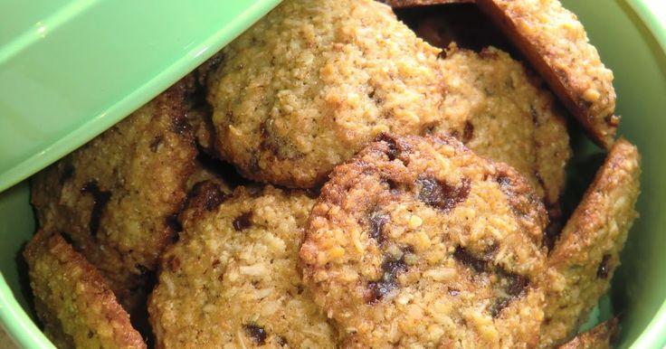 Kjerstis mat och prat: Knapriga cockies med hirsflingor, quinoaflingor och choklad - glutenfria och mjölkfria