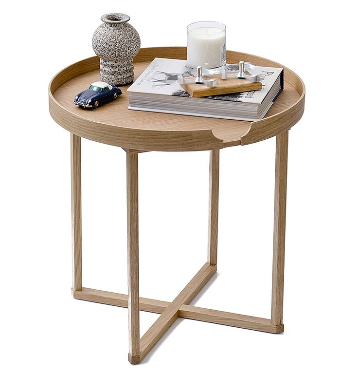 Oak side table from Natural Bed Company http//www.naturalbedcompany.