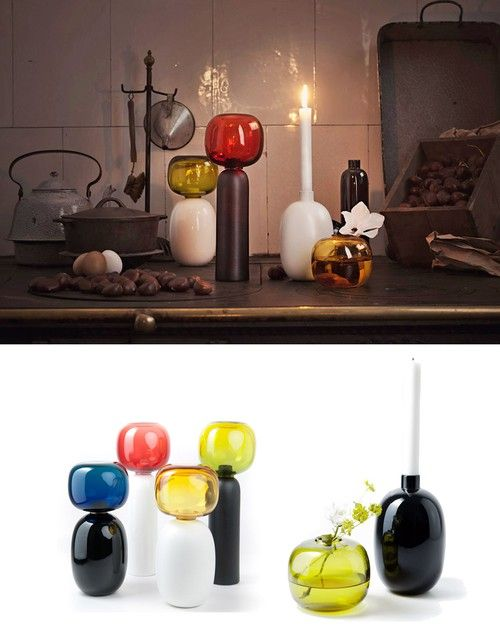Les poupees by Luca Nichetto  (Like the white one with the yellow vase)