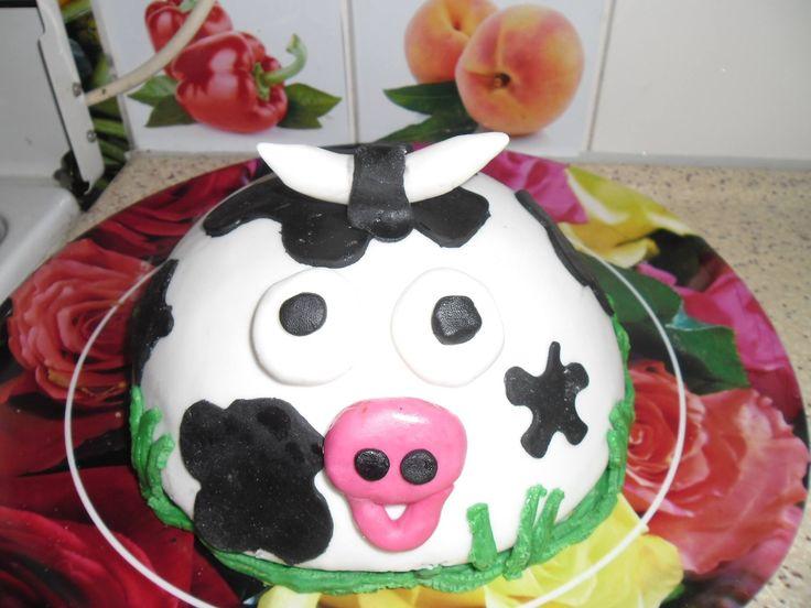 koeien bol taart