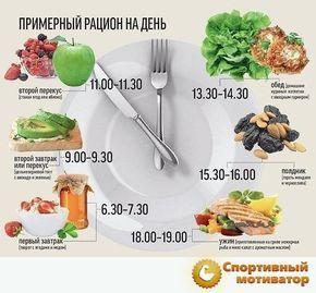Как долго перевариваются продукты : таблица-помощница для худеющих