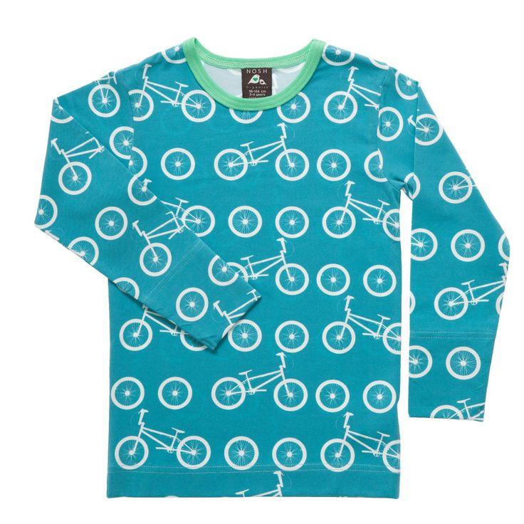 Nosh L/s shirt BMX Bike - Blue