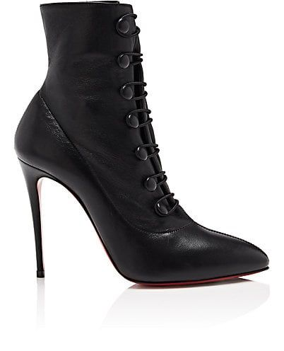 699269bf31f We Adore  The French Tutu Leather Ankle Boots from Christian Louboutin at  Barneys New York
