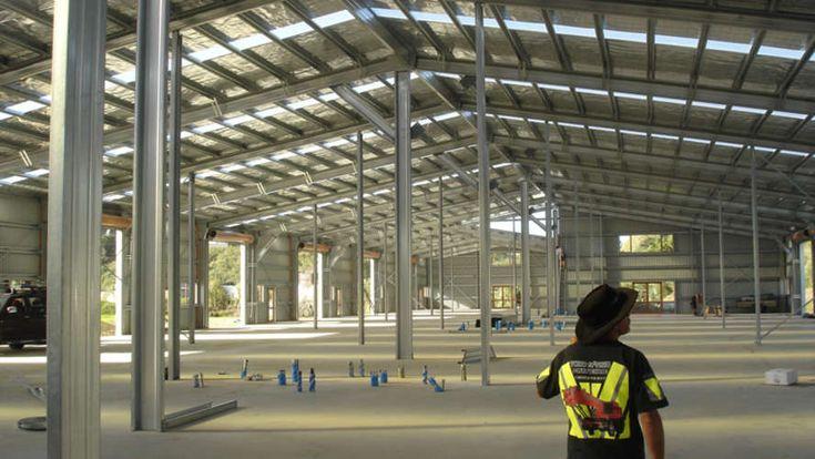 Steel Frame Buildings, Commercial Builders  Steel Sheds NZ