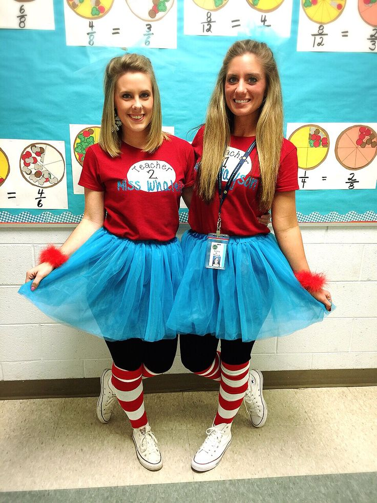 Classroom Dress Up Ideas ~ Read across america week teacher outfits ️