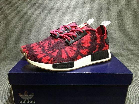 a04cc89efa1a4 2018 Cheap Priced Adidas NMD R1 PK NICE KICKS Spider Man AQ4791 Red Black  Shoe