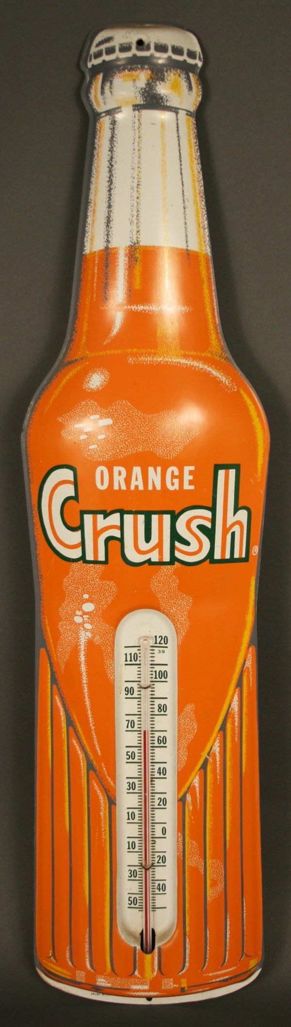 Rare Orange Crush thermometer