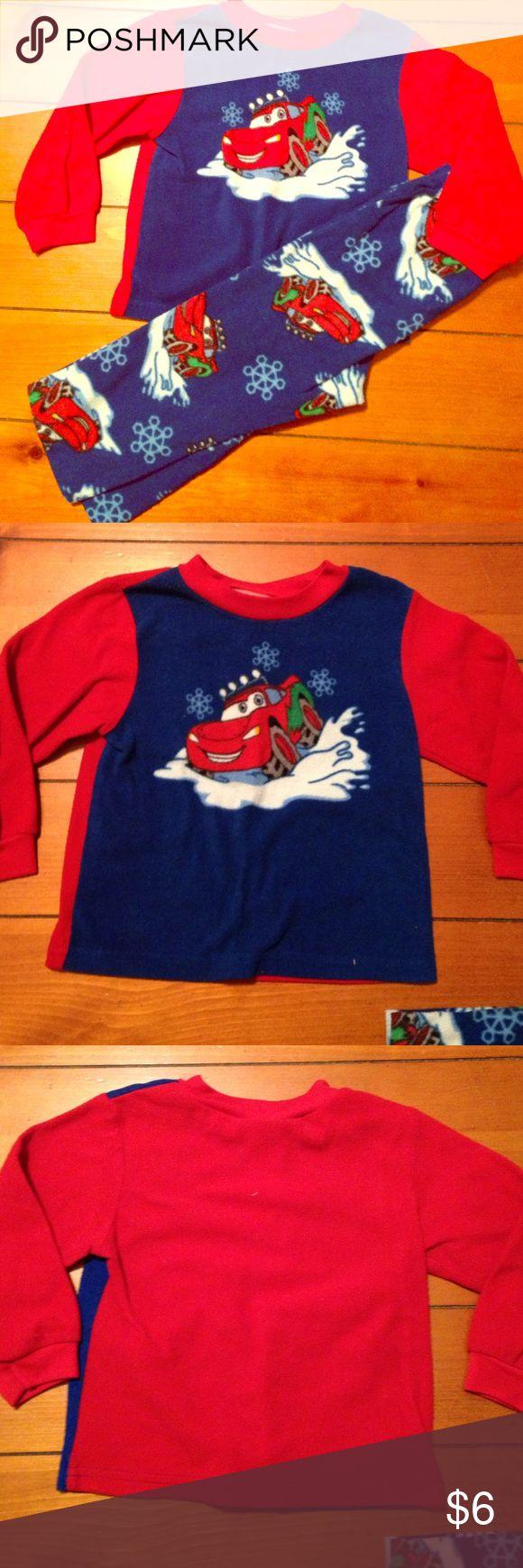 Kids pjs Cars fleece pjs Pajamas Pajama Sets