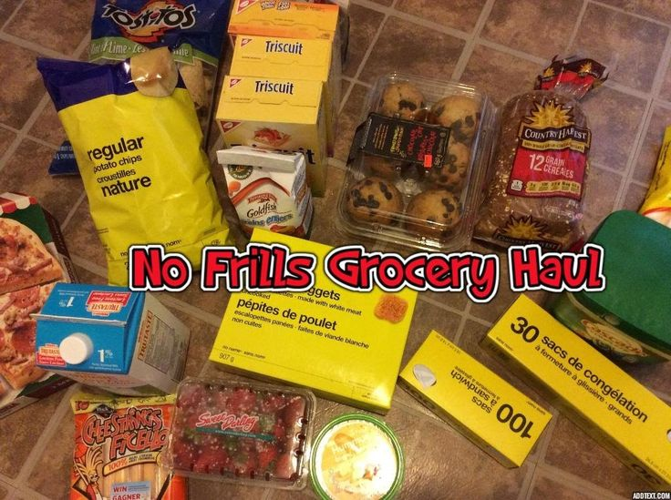 Grocery Haul at No Frills