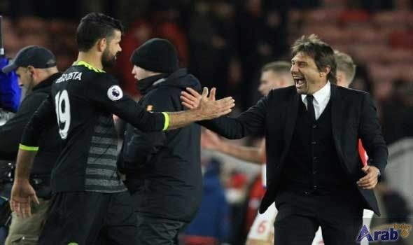 Chelsea's Conte lavishes praise on ruthless Costa