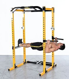 homemade Gym rack - Buscar con Google Home Gyms - amzn.to/2hoGXRy Sports & Outdoors - Sports & Fitness - home gym - http://amzn.to/2jsMKm8