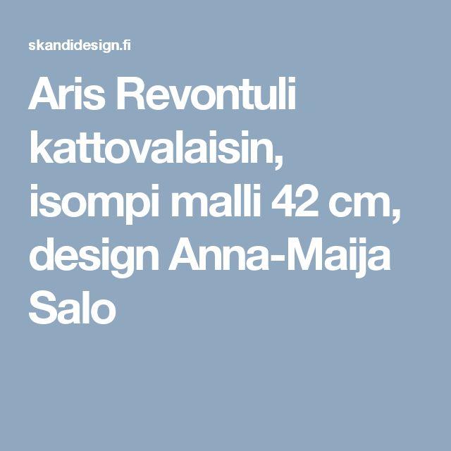 Aris Revontuli kattovalaisin, isompi malli 42 cm, design Anna-Maija Salo