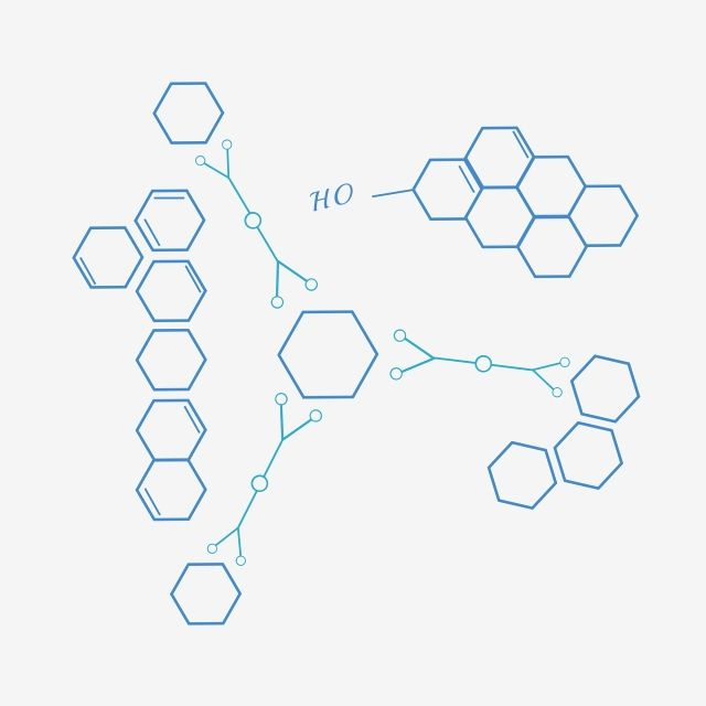 Hexagonal Chemical Molecular Illustrator Molecular Structure Chemical Molecule Structure Png Transparent Clipart Image And Psd File For Free Download Molecular Illustration Clip Art