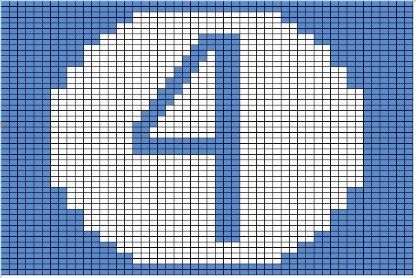 Free Fantastic Four Cross Stitch Pattern