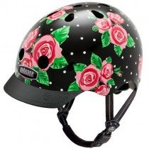 Nutcase Helmet - Rosey Dots