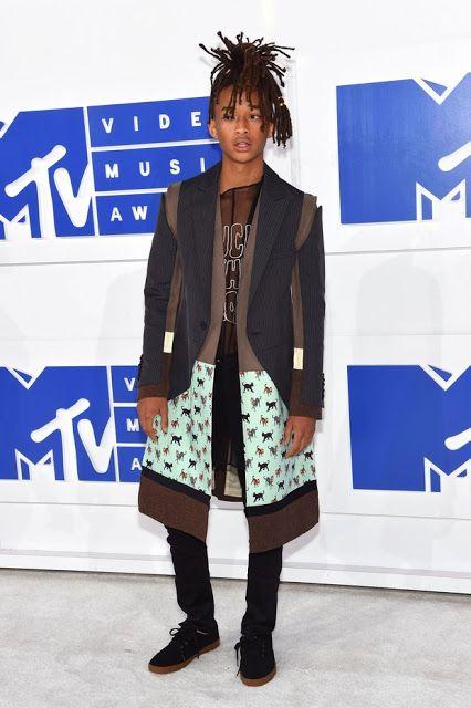Jaden Smith looks vma, Os Looks Masculinos do VMA 2016