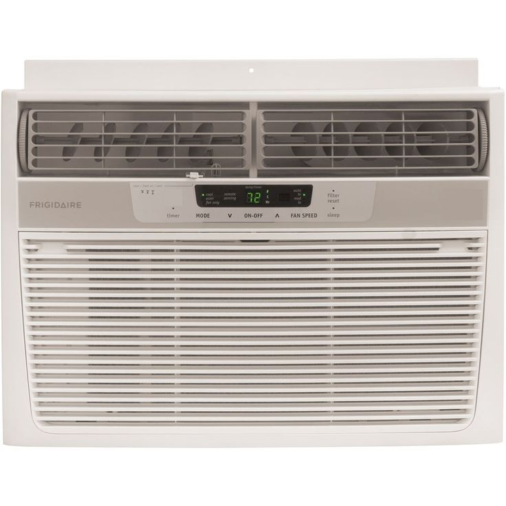 12,000 BTU Window-Mounted Compact Air Conditioner with Full-Function Remote Control